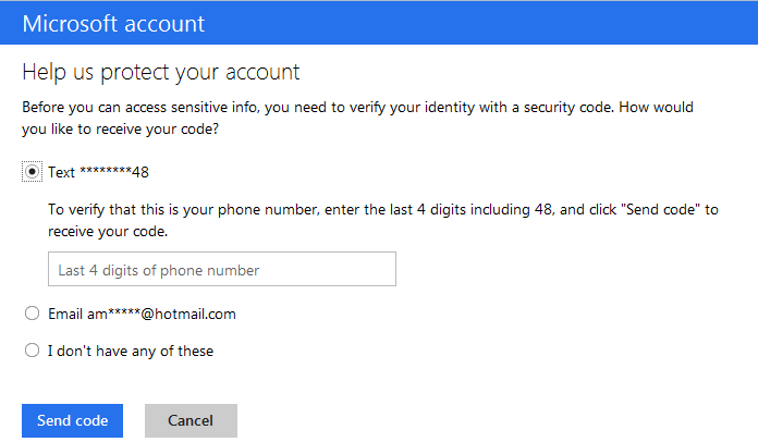 Hotmail Verification